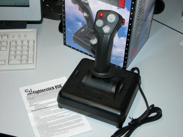CH Products - FighterStick USB - FlightSim Pilot Shop